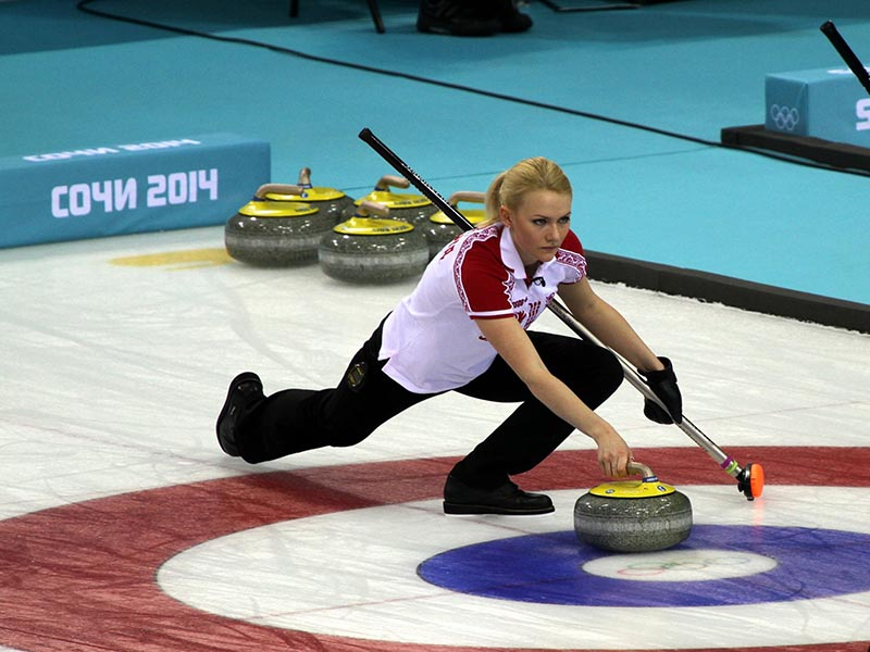 weird olympic sports curling